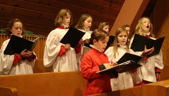 Young Choristers Sing Evensong